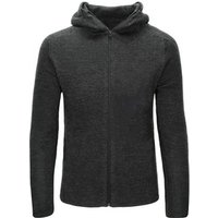 Ready To Ship Oem Make Adults Merino Wool Hoodie Merino Cardigan Merino Wool Hooded Jacket Men For Sports