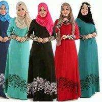 islamic Abaya Dresses Arab Ladies Caftan Kaftan Malaysia Abayas dubai turikish ladies Clothing women muslim dress