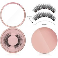 New Arrival Private Label Makeup Waterproof Magnetic Eyeliner and Magnetic Eyelash and Tweezer Kit