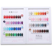 BORN PRETTY 15ml Love Series 80 Colors Pure UV LED Cure Nail Art UV Gel Kit