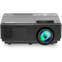 New EUG D6+ full hd mini portable lcd led beamer 3d projector for home theater