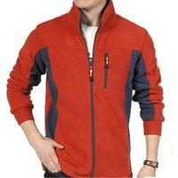 2019 Winter Cheap Hiking coat Stand Collar high quality custom logo men polar fleece Jacket