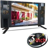 television slim design full hd 1080p panel smart android wifi big loud speaker 12v solar led tv 17inch 32 inch