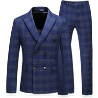 Best Price Custom Made Slim Fit Double Breasted 3 Piece Men Formal groomsman suits Tuxedo Suit