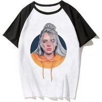 2019 spring Billie Eilish hoodie Print Hooded Women Men sweatshirt Clothes Harajuku Casual Hot Sale T-shirt Kpop sweatshirts