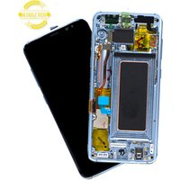 Mobile phone LCD display with frame for samsung Galaxy S8 G950 G950F LCD display screen