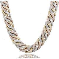 Wholesale Heavy Cuban Link Chain Necklace Diamond