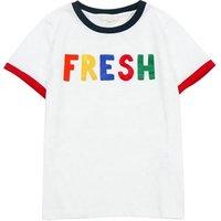 High quality kids summer clothing white round neck short sleeve cotton boys t shirt