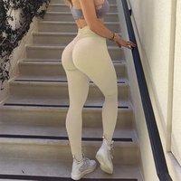 wholesale custom high waist fitness leggings womens yoga pants