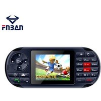Free shipping Game Mobile Phone 2.8 inch dual sim support 100 games