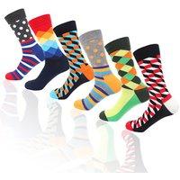 Wholesale middle calf custom logo happy socks funky soft cotton sports mens athletic socks