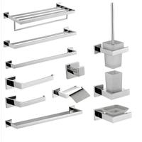 Luxury Stainless Steel Hotel Bath Accessories Bathroom Accessory Set
