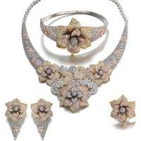 Vantage Womens Bridal Gold Jewellery Necklace Sets 18k Gold Necklace Set