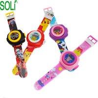 Watch cartoon animation toy kindergarten boy kid wrist watch