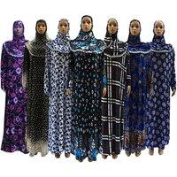 Robe Moulante Maxi Abaya Arab Kaftan Woman Islamic Clothing Dress Muslim Cloth