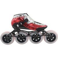 Professional DIY print logo Electroplating design inline speed skate 4 wheels inline skates