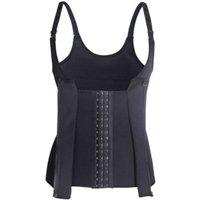 women waist trainer plus size vest corset shapewear shaper body tummy control cincher weight long compression colombian corset