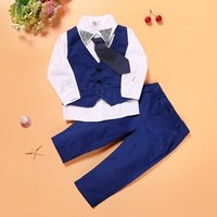 Cloth Imported Kid Baby Wholesale Childrens Boutique Boy Suit Garment Outfit Spring Child Clothing Set
