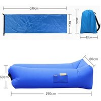 '2019 Best Sell Camping Air Bed Sofa Bag Inflatable Sofa Air Chair Indoor Or Outdoor Products