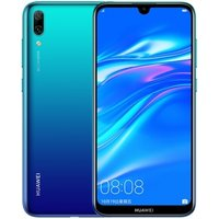 Factory Outlet Huawei Y7 Cell Phone/Enjoy 9 4GB+64GB 6.26 inch Octa Core Dual Back Cameras 4000mAh Huawei Mobile Phone(Blue)