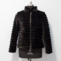 New Style Fashion Winter Coat High Quality Knitted Mink Fur Coat For Ladies