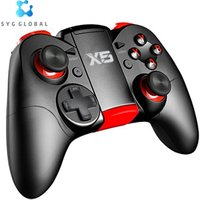 Wireless BT Game Controller For PC Android/IOS Phone Dual Vibration Joystick Gamepad X5 PRO Controller For TV Box/Tablet