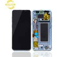 Wholesale AMOLED Original for Samsung mobile touch screen for Samsung Galaxy S8 LCD G950F Display with frame,For Samsung S8 LCD