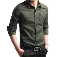 sh10245a Hot selling button up blank t-shirt 2019 long sleeve mens dress shirt