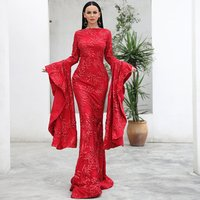 2019 Wholesale High Quality Elegant Evening Dress Formal For Muslim Women Prom Dress