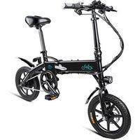Fiido New Design Fashion 36V 14 Folding Electric Bicycle Portable Electric Bike ebike D1 10.4Ah Poland Warehouse