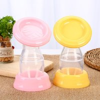 'Wholesale Best Selling Transparent Pp Silicone Simple Silicone Breast Pump For Traveling