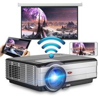 EUG X89AB 3500lumens mobile projector with wireless wifi android