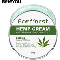 Beieyou Private Label Hemp Seed Oil Cream Effective Pain Relief Balm Natural Hemp CBD Cream Balm