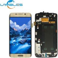 Low Price Mobile Phone Screen LCD Display Combo Repair Refurbished For Samsung Galaxy S6 Edge