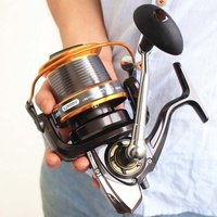 12+1BB 5.5:1 Full Metal Fish Feeder Spinning Reel Saltwater Deep Sea Fishing Reels abu garcia