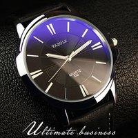 leather minimalist fashion luxury waterproof quartz brand hand wristwatches oem custom logo wrist mens watch