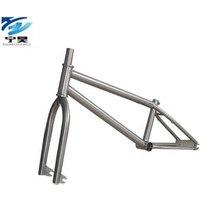 Promotion Extreme Sports Bicycle Bike Parts Titanium BMX Bicycle Frame