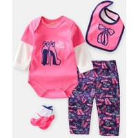 baby romper suit 4 pcs sale in bulk pa yi fang Comfortable baby clothing 100% cotton  baby clothing