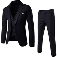 2019 Pant Coat Design Men Wedding Suits  Slim Fit Business Three Piece Sets Men Suit