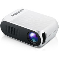 YG-320 YG320 Portable LED Mini Projector Home Theater Cinema 1080P Video HD USB Pocket Projector Built-in speaker PK YG300