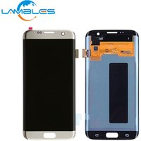 OEM Mobile Phone For Samsung S7 Edge LCD Original, For Samsung S7 Galaxy Edge Screen LCD Touch Digitizer