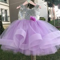 Kids Baby Girl Clothes set girls Lace Tulle Party Gown Dresses children party backless Sundress