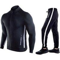 Custom Logo Men Sportswear Running Wear Training Wear Suit Fitness Clothing Mens Sports Suit Tracksuits With Zipper