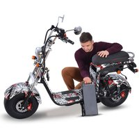 European Warehouse Stock moto electrica fat tire E Bike electric bicycle  motorcycle city coco 2000w 2000 w Citycoco eec ATV