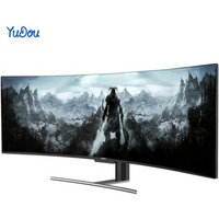 49 INCH 144HZ Ultra Wide Curve Screen Wholesale  Gaming Computer Monitor