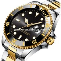 China Wrist Watch Manufacture Accept Custom Logo Rollex Watch Automatic OEM Stainless Steel Watch