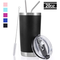 2019 new products 20oz double wall stainless steel insulated thermos tumbler, wine cup for keeping coffee, wine and tea