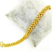 costume jewelry charm bracelet, gold color 24k gold bracelet, rose copper alloy bracelet for women