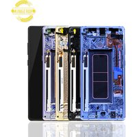 Wholesale OEM Original quality for Samsung mobile phone Note 8 screen for Samsung Galaxy Note 8 LCD N950F Display With frame