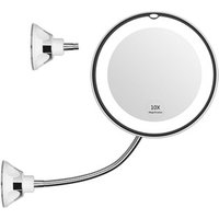 New Anti-fog Hollywood Cosmetic Mirror led Makeup Vanity mirror With 10X Magnifying